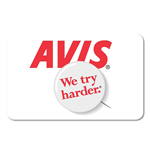 AVIS<sup>®</sup> Rental $100 Gift Card