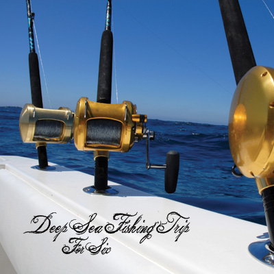 DEEP SEA FISHING TRIP - Enjoy a day of fishing out on the open waters. This deep sea excursion is for 6 people.  Details vary based on your location. Airfare not included.