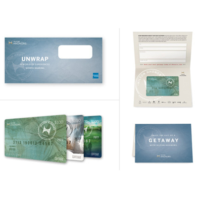 HILTON HHONORS™ $100 Gift Card - From getaways to golf, use this $100 Hilton HHonors™ gift card for your next Hilton<sup>&reg;</sup> brand adventure.