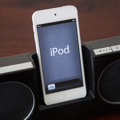 APPLE<sup>&reg;</sup> iPod touch<sup>&reg;</sup> 32GB - This iPod touch features a lightweight, super slim design.  Features include a 4-inch retina display and a 8-megapixel camera for taking stunning photos or record 1080p video. Discover music, movies, and more from the iTunes Store, or browse apps and games from the App Store.