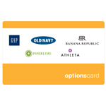THE OPTIONS<sup>&reg;</sup> $25 Gift Card