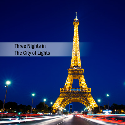 3 Nights in the City of Lights - Enjoy 3 amazing nights in Paris, France, the city of lights, at the Hôtel Plaza Athénéé.  Located on the prestigious avenue Montaigne, this legendary hotel offers Parisian splendor with their famous art of hospitality.  Subject to availability based on request.  Airfare not included.