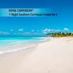 ROYAL CARIBBEAN<sup>&reg;</sup> 7-Night Southern Caribbean Cruise for 4